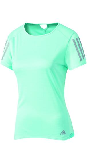 adidas Response hardloopshirt turquoise